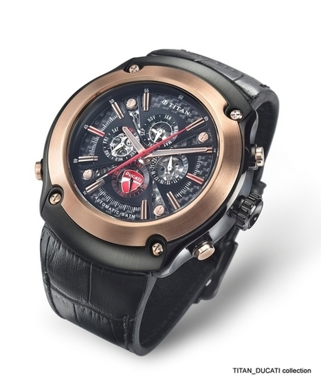 Titan Ducati special edition watches | Rush Lane | Ductalk Ducati News | Scoop.it