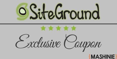 SiteGround Coupon – November 2015 *MAX DISCOUNT*   Mashinie (Online Tech Wizard)   Scoop.it