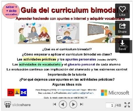 Educación tecnológica: Como desarrollar el currículum bimodal para mejorar el aprendizaje   APRENDIZAJE   Scoop.it