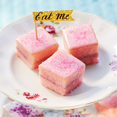 Lime and Raspberry Petits Fours #recipe RT @Todaysparent | Soul Food Recipes | Scoop.it