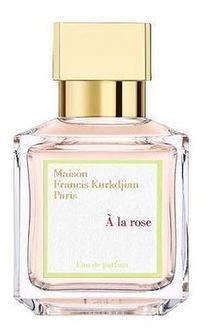 Le parfum A la Rose de Maison, une nouveauté de Francis Kurkdjian | Les parfums de marque à prix cassé | Scoop.it