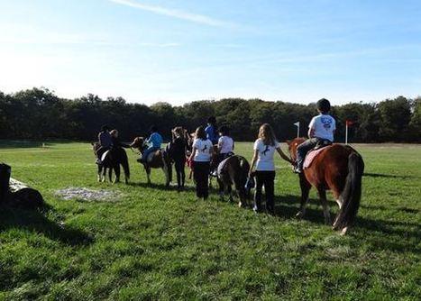 4 étudiantes du lycée agricole d'Auzeville ont fait découvrir l'équitation à un petit groupe d'enfants du Secours Populaire de Colomiers au Club Hippique de Pibrac | Pibrac sur la Toile | Scoop.it