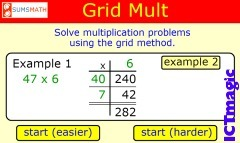 Grid Multiplication | elementary math | Scoop.it