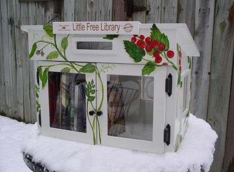 Little Free Libraries Are Coming to Town – The Sweet Pursuit – Utne Reader | innovative libraries | Scoop.it