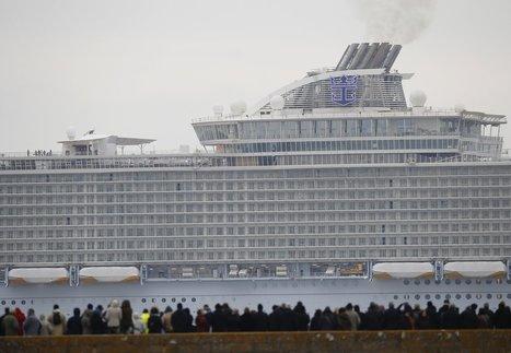 In acqua! Il primo viaggio della nave da crociera più grande del mondo   Turismo Oggi   Scoop.it
