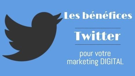 infographie : les bénéfices de Twitter pour le marketing - DIGIMIND Blog | sur les réseaux sociaux | Scoop.it