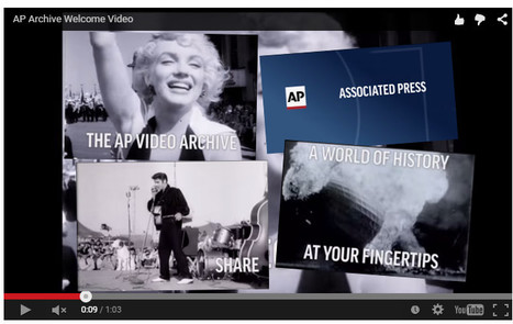 L'Associated Press publie 17.000 heures d'archives historiques sur Youtube | DocPresseESJ | Scoop.it