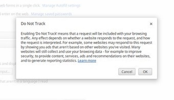 "How To Enable ""Do Not Track"" on Google Chrome 