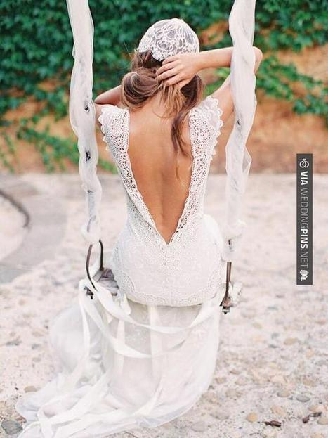 Twitter / WeddingPinsNET: Claire Pettibone 'Toulouse' ...   Monica qb wedding   Scoop.it