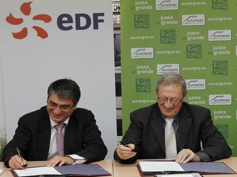 La Région Auvergne et EDF s'associent pour développer le chauffage au bois | Le groupe EDF | Scoop.it
