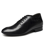 Black / Brown Men Height Inceasing Dress Shoes that make you taller 8cm / 3.15inch | Elevator shoes for men | Scoop.it