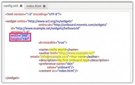 Comment créer un widget pour Open Sankoré ? | Numérique & pédagogie | Scoop.it