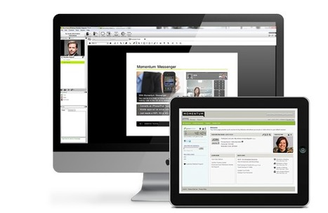 New Full Web Conferencing Platform for Up To 250 Participants: Momentum Meeting | Distance Ed Archive | Scoop.it