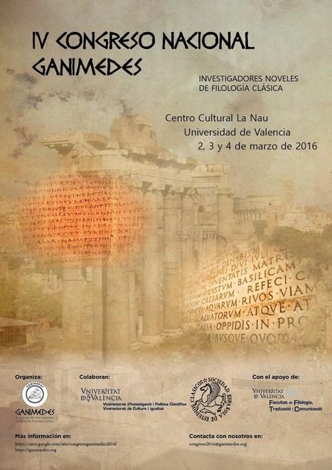 Congreso Ganimedes 2016: investigadores noveles de filología clásica | EURICLEA | Scoop.it