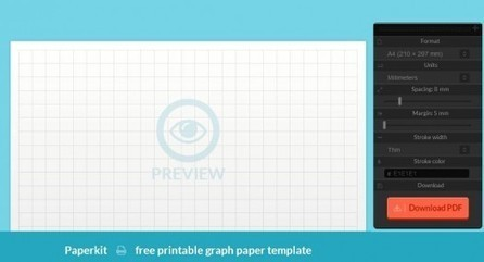 Des quadrillages au millimètre, Paperkit | Geeks | Scoop.it