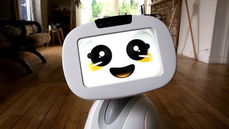 Le robot compagnon Buddy permet de piloter la maison connectée Somfy | Freewares | Scoop.it