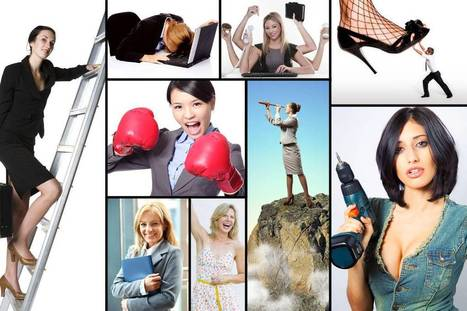 Feminism, According to Stock Photography | Dare To Be A Feminist | Scoop.it