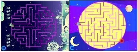 Desarrollar la razón matemática y espacial con laberintos: Wee Kids Mazes | ulco | Scoop.it