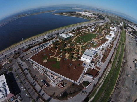 Facebook's New HQ has a Massive 9-Acre Garden on the Roof | ArchIDes - Architecture and Interior Design | Scoop.it