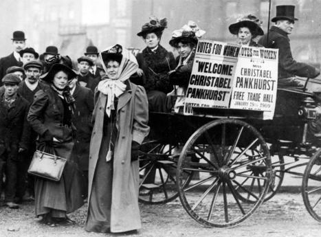 Suffragetit taistelivat naisten äänioikeuden puolesta verissä päin   Historia   Scoop.it