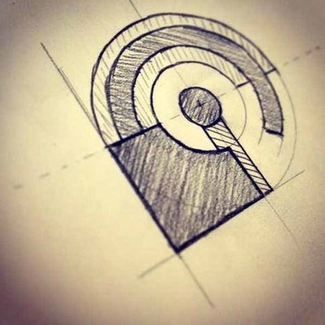 45+ Creative Sketch Brand Logos Design Examples | Logo & Brand | Scoop.it