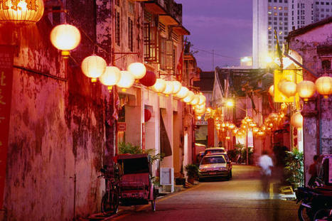 Chinatown with lanterns, Melaka - Lonely Planet Malaysia | Year 1 Geography: Places - Malaysia | Scoop.it
