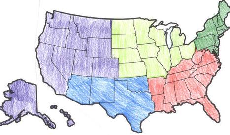 United States Regions | US Regions Report | Scoop.it