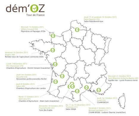Le Dém'OZ Tour de France 2015 est lancé ! – Naïo Technologies | Chimie verte et agroécologie | Scoop.it