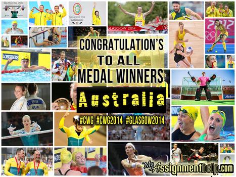 Congratulation to all medal winners, #australia | Assignment Help -Australia, UK & USA | Scoop.it