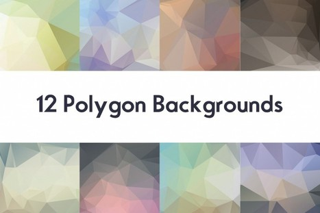 Freebie Polygon Backgrounds | OrTheme | Creative PSD for free | Scoop.it