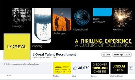 Quelle est la stratégie marque employeur de L'Oréal sur les réseaux sociaux ? | French Digital News | Scoop.it