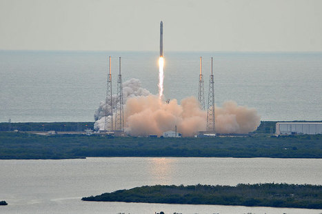 SpaceX launches Dragon capsule on 2nd space station resupply mission | collectSPACE | The NewSpace Daily | Scoop.it