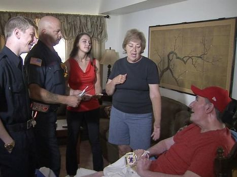 Firefighters Meet Paralyzed Father of Waitress Who Performed 'Selfless' Act ... - ABC News | CLOVER ENTERPRISES ''THE ENTERTAINMENT OF CHOICE'' | Scoop.it