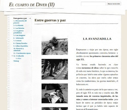Un periódico digital de aula para viajar al siglo XX | paprofes | Scoop.it