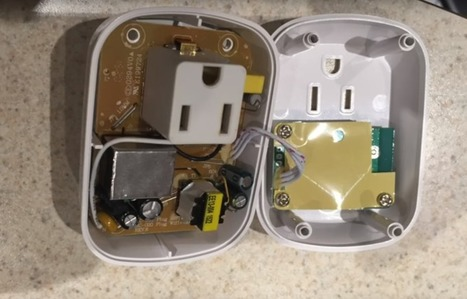 Cheap WiFi Outlets Reflashed; Found to Use ESP8266 | Embedded Systems News | Scoop.it