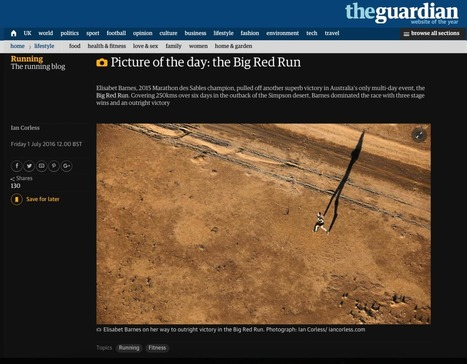 Picture of the Day (Big Red Run) – The Guardian | Talk Ultra - Ultra Running | Scoop.it