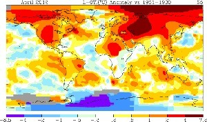 Global warming: New statistical analysis trys to pinpoint temperature increases by region and season | Climate | Scoop.it