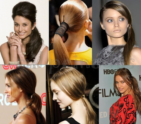 Ponytail hairstyles for party | Hair Style | Scoop.it