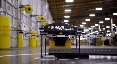 Amazon teste la livraison avec des drones | Logistique et Transport GLT | Scoop.it