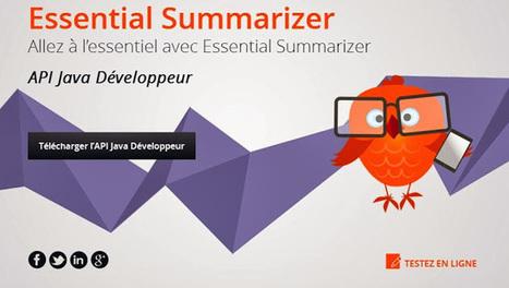 Essential Summarizer - Google+   What to do with Essential Summarizer?   Scoop.it