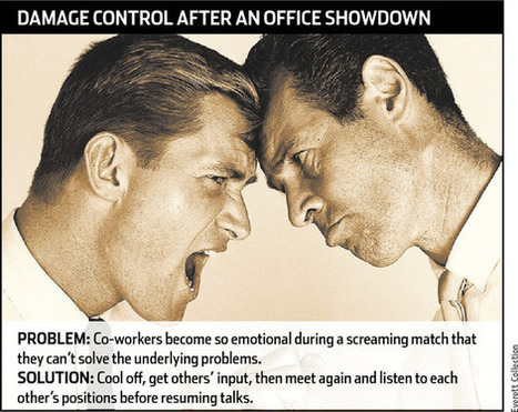 Argument, Anger, & Conflict At Work | Leadership at Work | Scoop.it