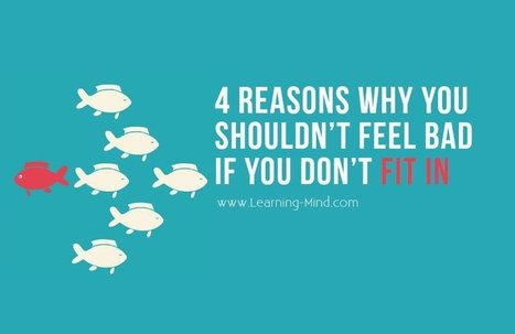 4 Reasons Why You Shouldn't Feel Bad If You Don't Fit In | Executive Coaching Growth | Scoop.it