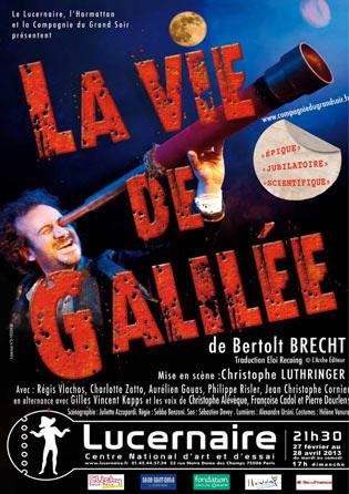 Christophe Luthringer – La Vie de Galilée | Spectacle Renaissance et les talents qui le font | Scoop.it