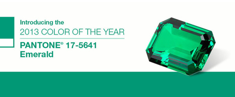 Emerald - Pantone Color of the Year 2013: - Color trends, color palettes , Pantone 17-5641 TCX. | Vibe - bringing life to brands | Scoop.it