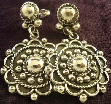 Momento Drop Earrings - Mexican Silver Store | Taxco.925 Mexican Silver Store | Scoop.it