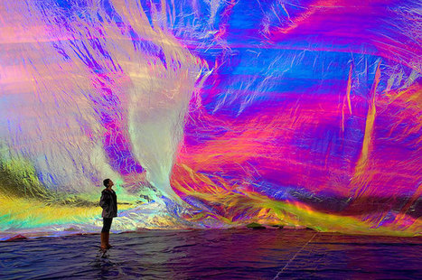"""Poetic Cosmos of the Breath"" by Tomás Saraceno 