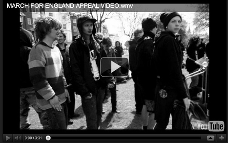 MARCH FOR ENGLAND APPEAL VIDEO   Race & Crime UK   Scoop.it