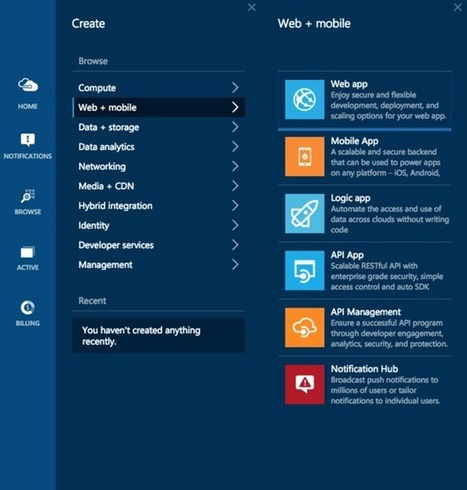 First look: Microsoft's Azure App Services sweeten cloud development | Cloud Central | Scoop.it