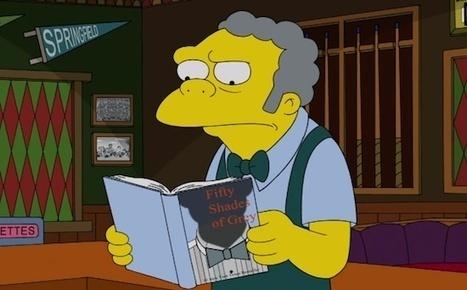 Les Simpsons aussi lisent EL James | The simpsons | Scoop.it