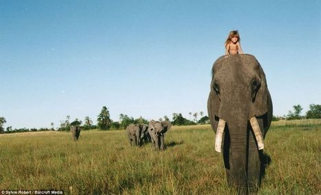 Tippi Benjamine Okanti Degre, girl who spent the first ten years of her life growing up in the African bush | Everything Photographic | Scoop.it